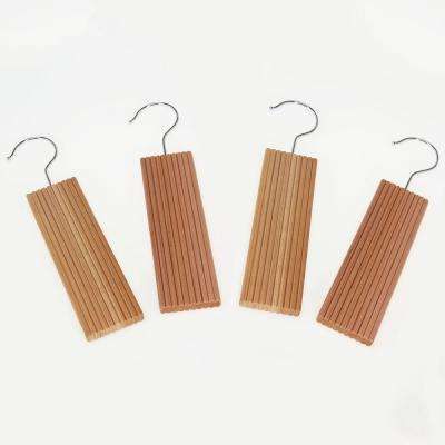 Natural Eastern Red Cedar With Lavender Closet Hangers with Hook (4-Pack)