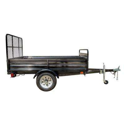5.4 ft. x 7 ft. Single Axle Utility Trailer Kit with Drive-Up Gate