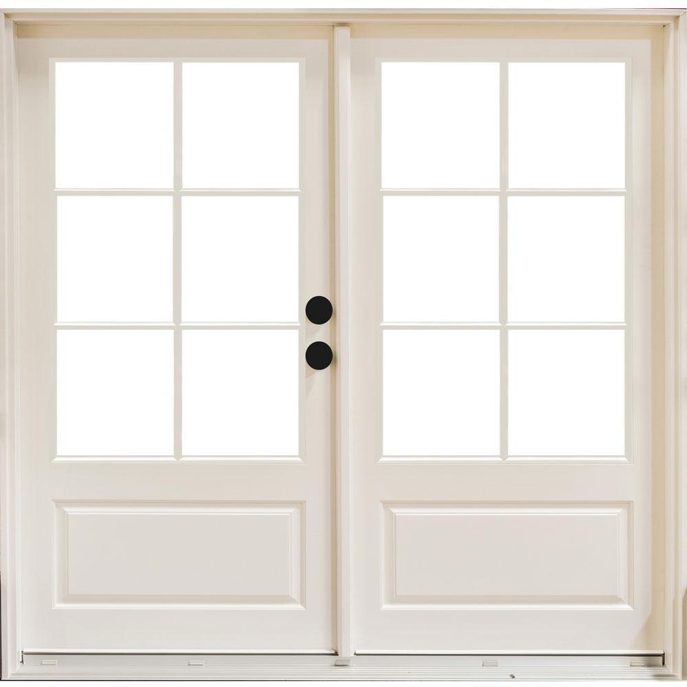 6 Lite Patio Doors Exterior Doors The Home Depot