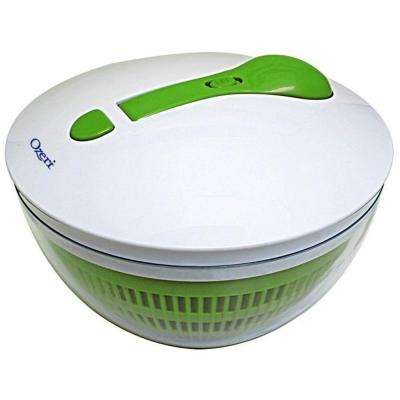 Swiss Designed FRESHSPIN Salad Spinner and Serving Bowl, BPA-Free
