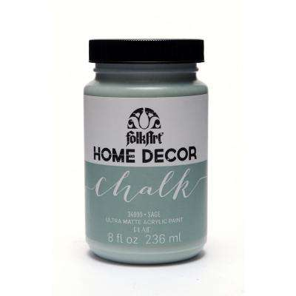 8 oz. Sage Chalk Finish Paint