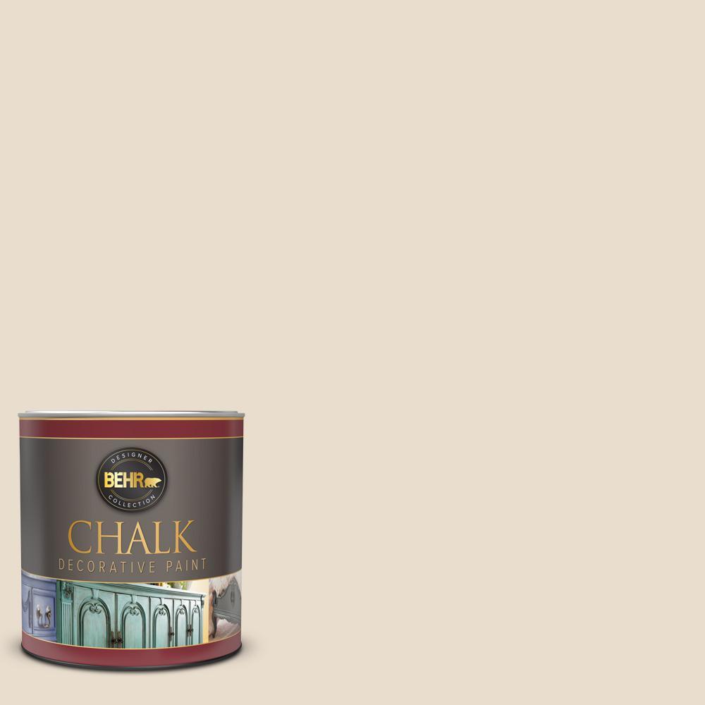 1 qt. #23 Antique White Interior Chalk Decorative Paint