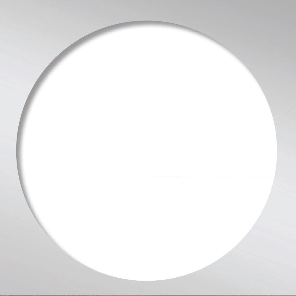 Redi Drain Tile Redi 5.75 in. x 5.75 in. Square Drain Plate Trim in Polished Chrome