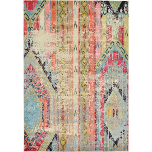 Sedona Yosemite Multi 6 ft. x 9 ft. Area Rug