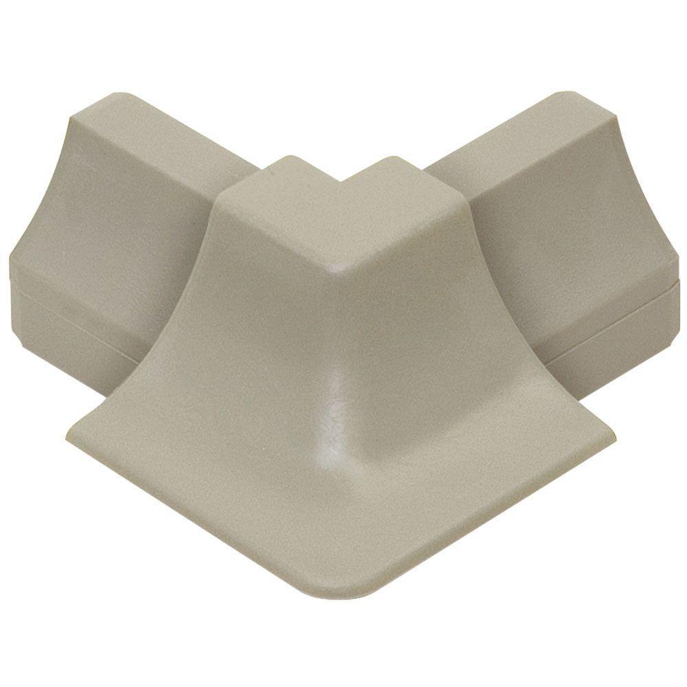 Dilex-HK Grey 1 in. x 2 in. PVC Outside Corner