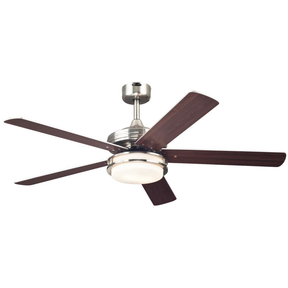 Westinghouse Castle 52 In Led Brushed Nickel Ceiling Fan