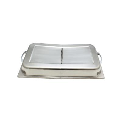Stainless Steel Hinged Dome Cover