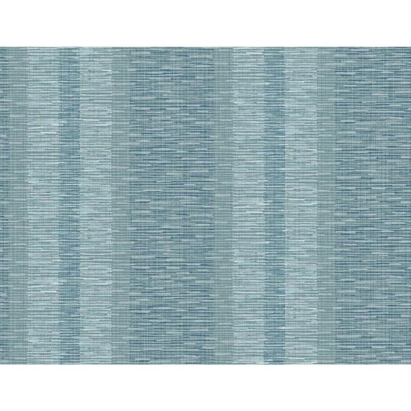 A Street Prints Pezula Teal Texture Stripe Teal Grass Cloth Strippable Roll Covers 60 8 Sq Ft 2949 60104 The Home Depot