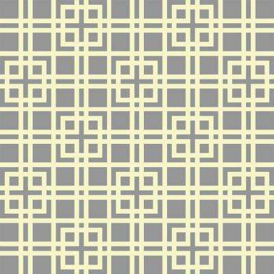 45 in. x 45 in. Modern Lattice Wall Painting Stencil