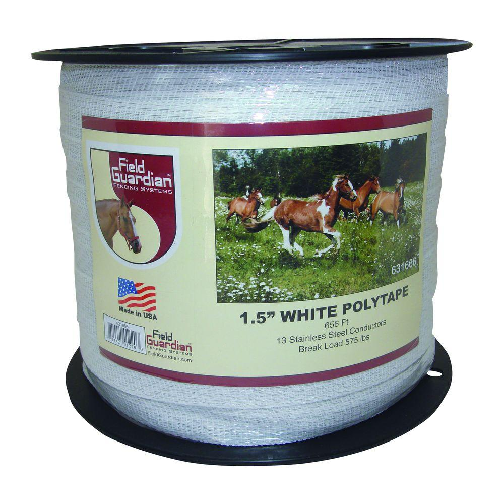 Field Guardian 1.5 in. White Polytape