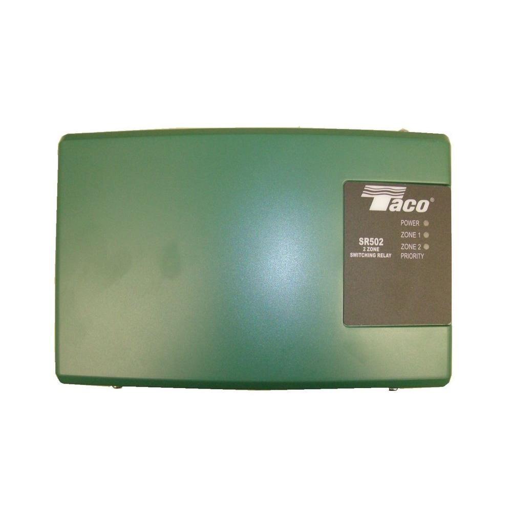 taco 2 zone switching relay