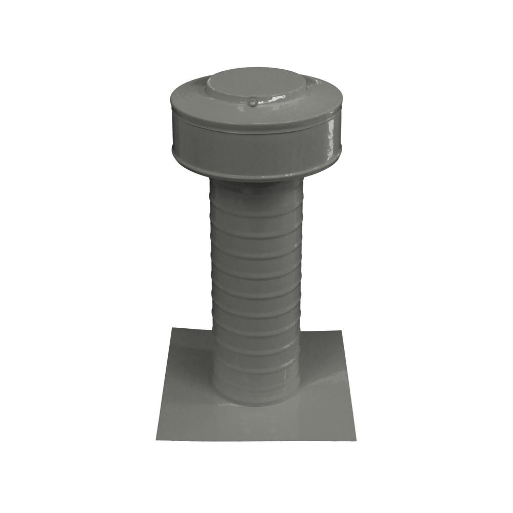 Keepa Vent 4 in. Dia Aluminum Roof Vent for Flat Roofs