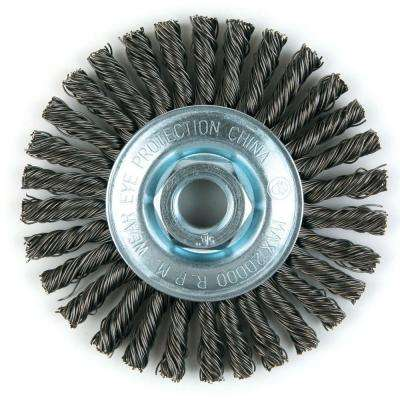 4 in. Stringer Bead Twist Brush
