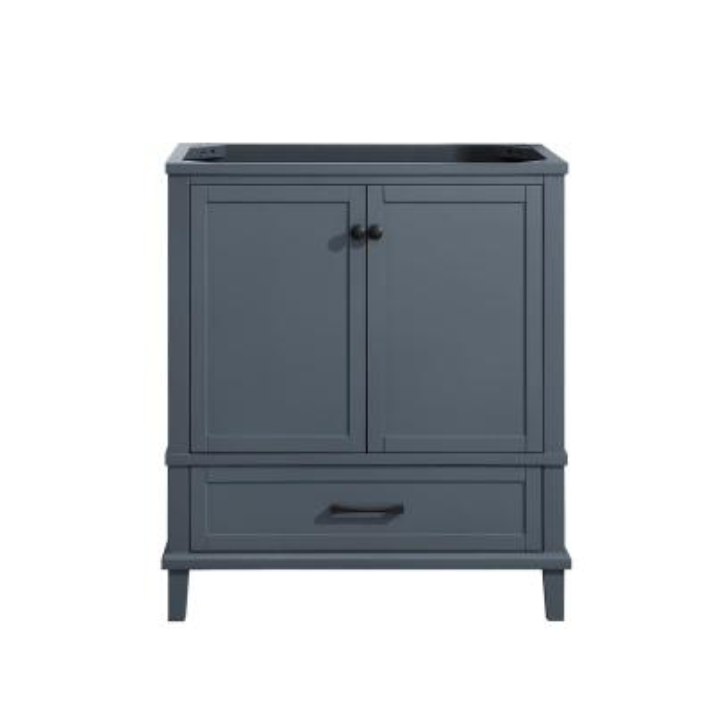 Merryfield 30 in. W x 21-1/2 in. D Bathroom Vanity Cabinet Only in Dark Blue-Gray