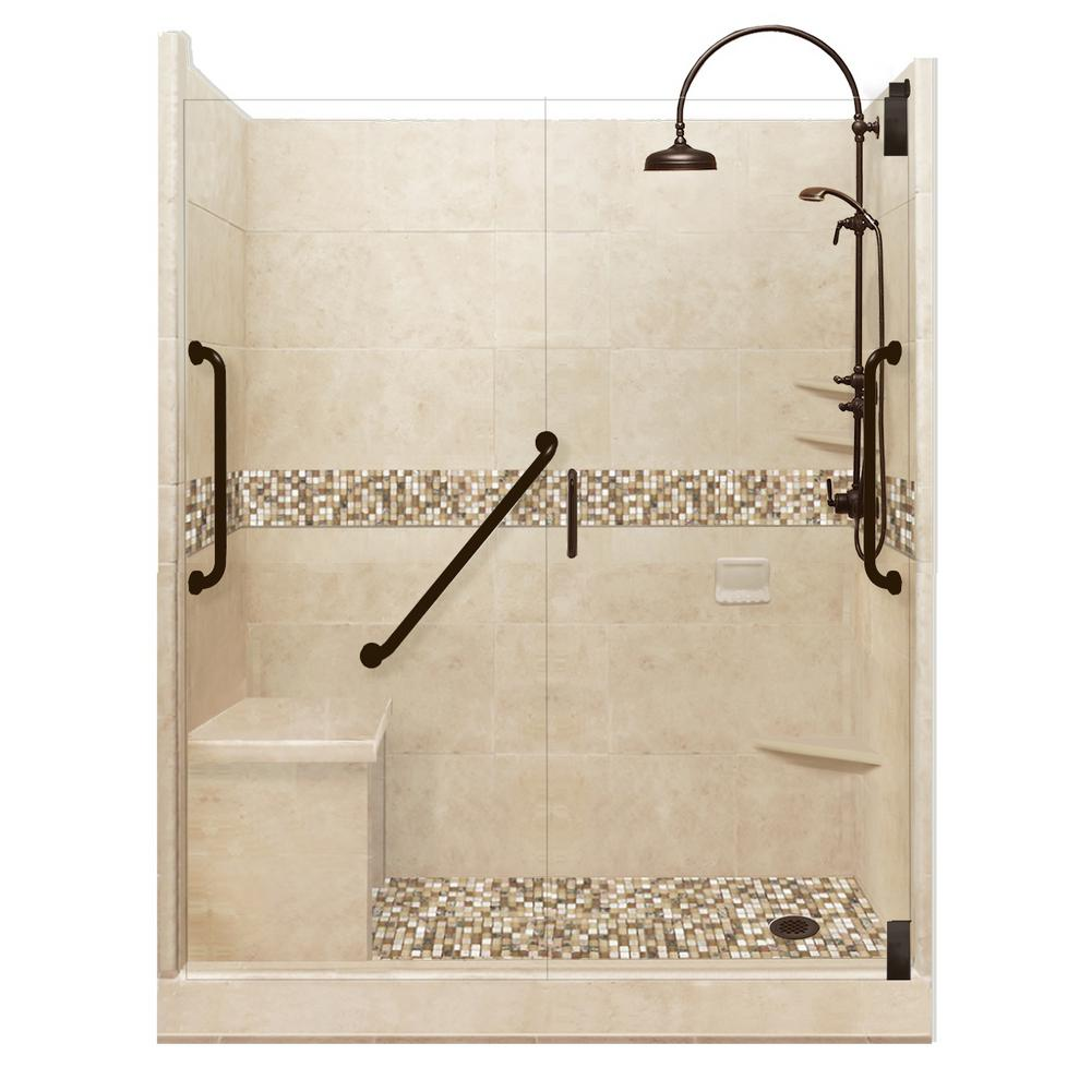Roma Freedom Luxe Hinged 36 in. x 60 in. x 80