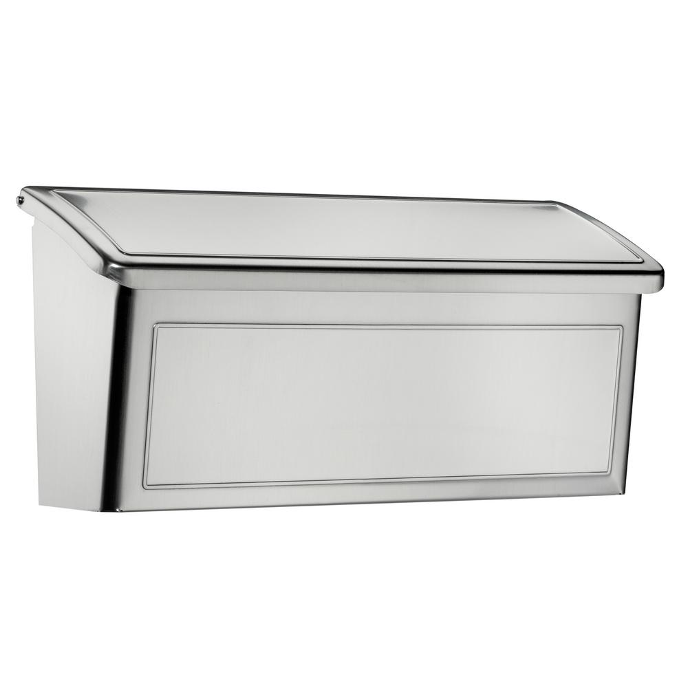 wall mount residential mailboxes. Venice Stainless Steel Wall Mount Mailbox Residential Mailboxes M