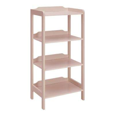Sadie New Pink Small Office Bookcase