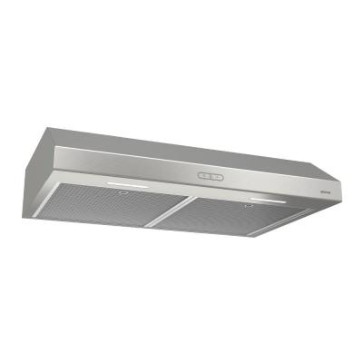 Glacier Deluxe 30 in. Convertible Under Cabinet Range Hood with Light in Stainless Steel