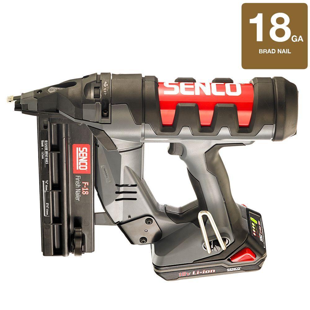 Fusion 18-Volt 18-Gauge Cordless Straight Brad Nailer