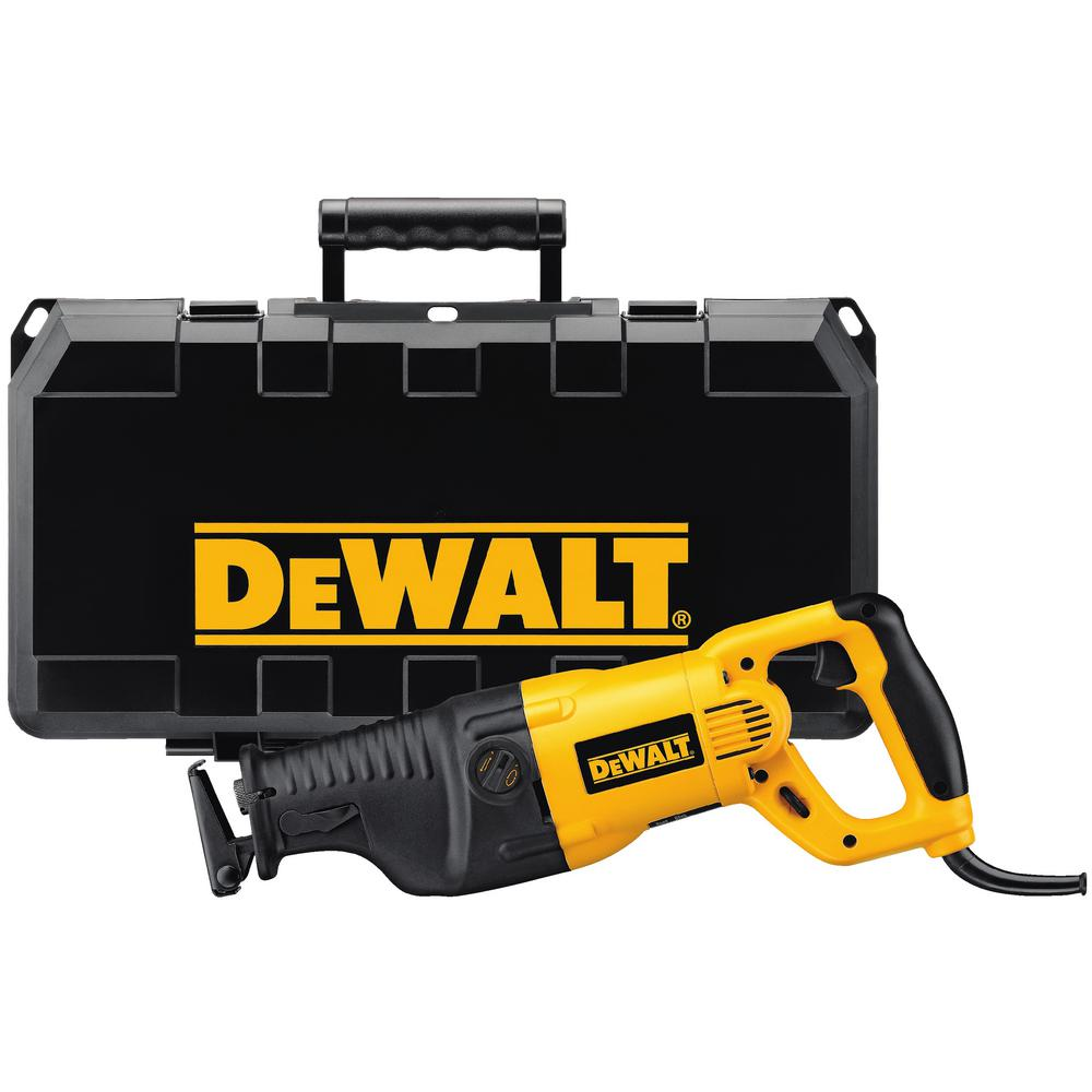 Dewalt 13 amp reciprocating saw kit dw311k the home depot dewalt 13 amp reciprocating saw kit greentooth Image collections