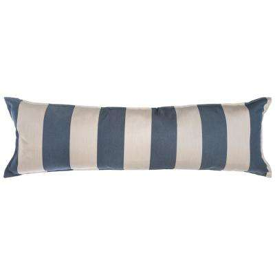 Long Hammock Pillow in Regency Indigo