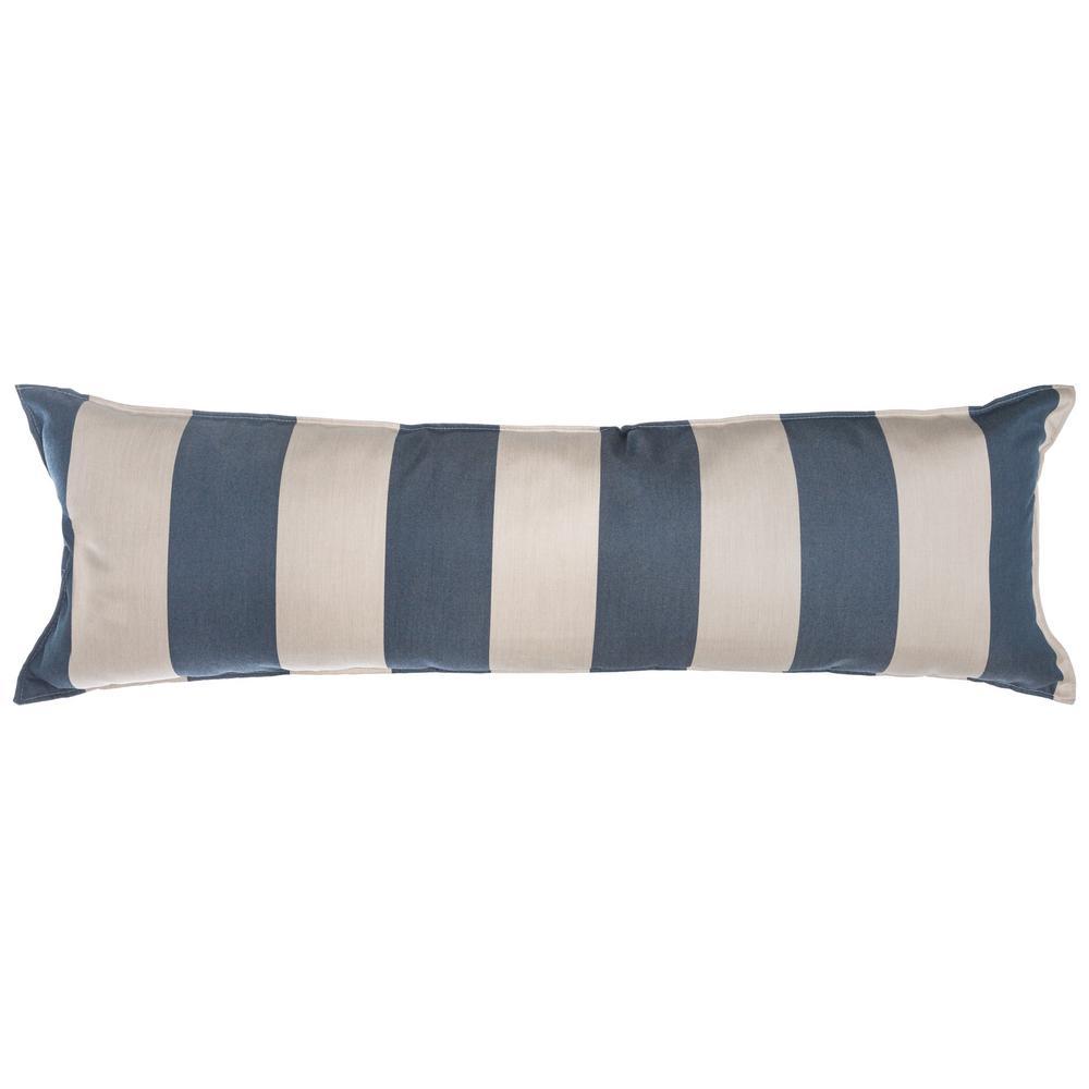 Long Hammock Pillow in Regency Indigo