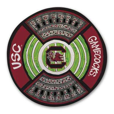 South Carolina Football Stadium Melamine Platter