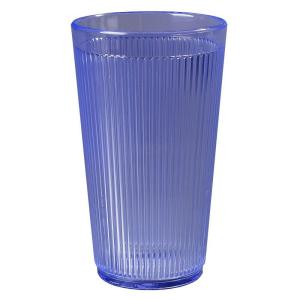 Carlisle 12 oz. Polycarbonate Tumbler in Ocean Blue (Case of 48) by Carlisle