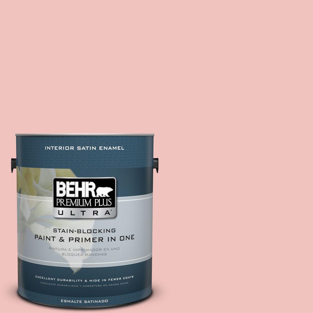 BEHR Premium Plus Ultra 1 gal. #M160-2 Taffy Twist Satin Enamel ...