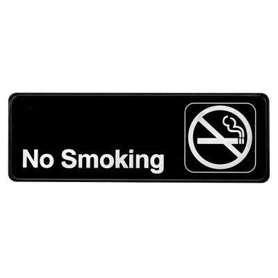 9 in. x 3 in. No Smoking Sign