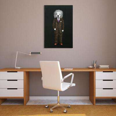 """Einstein Glitter"" High Resolution Graphic Art Print on Wrapped Canvas Wall Art"