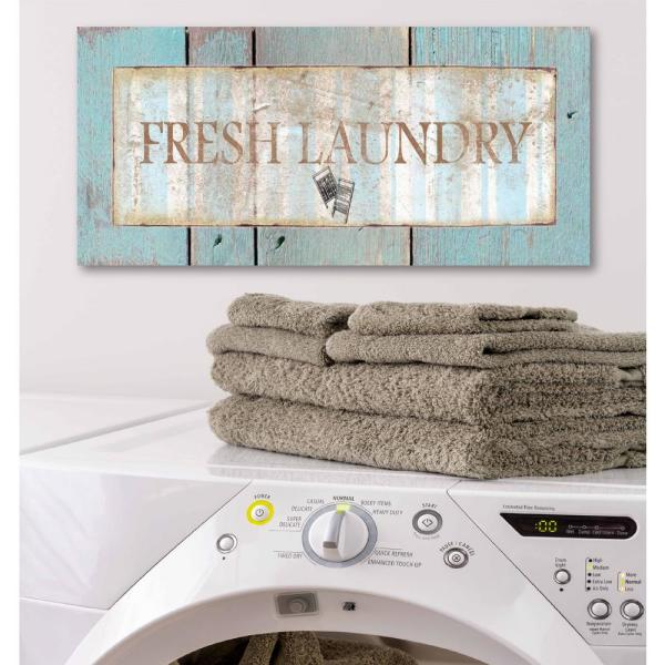 Laundry Room Ii Canvas Printed