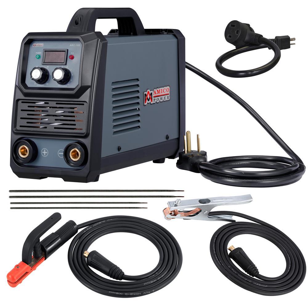 Amico 160 Amp Stick arc DC Inverter Welder IGBT 115-Volt and 230-Volt Dual Voltage Welding Machine New