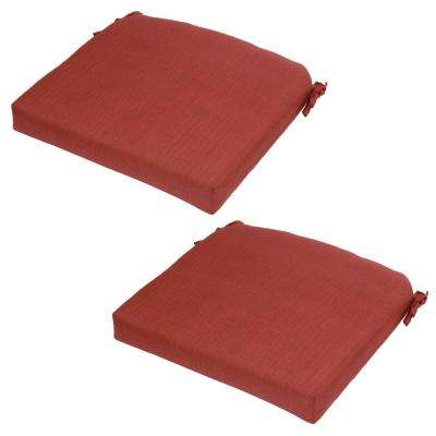 Chili Outdoor Seat Cushion (2 Pack)