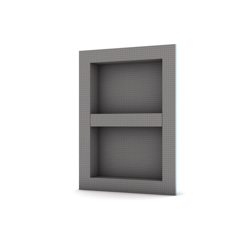 Wedi 16 In. X 22 In. Shower Niche With Adjustable Shelf
