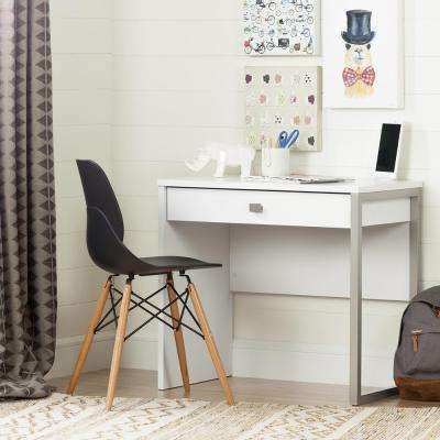 Interface Pure White Student Desk