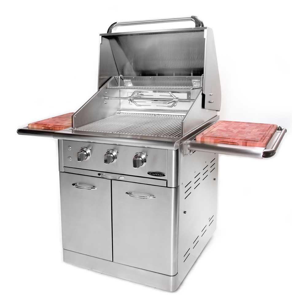 Capital Precision 3-Burner 30 in. Stainless Steel Propane Gas Grill ...