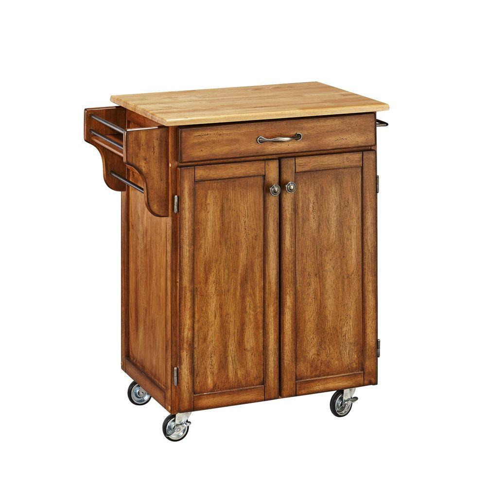 internet home styles createacart warm oak kitchen