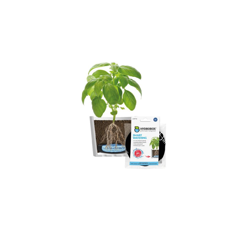 Hydrobox - 4 7 in  Smart Plant Watering, HDPE, PES
