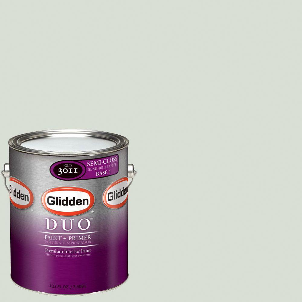 Glidden DUO Martha Stewart Living 1-gal. #MSL114-01S Lentil Semi-Gloss Interior Paint with Primer-DISCONTINUED