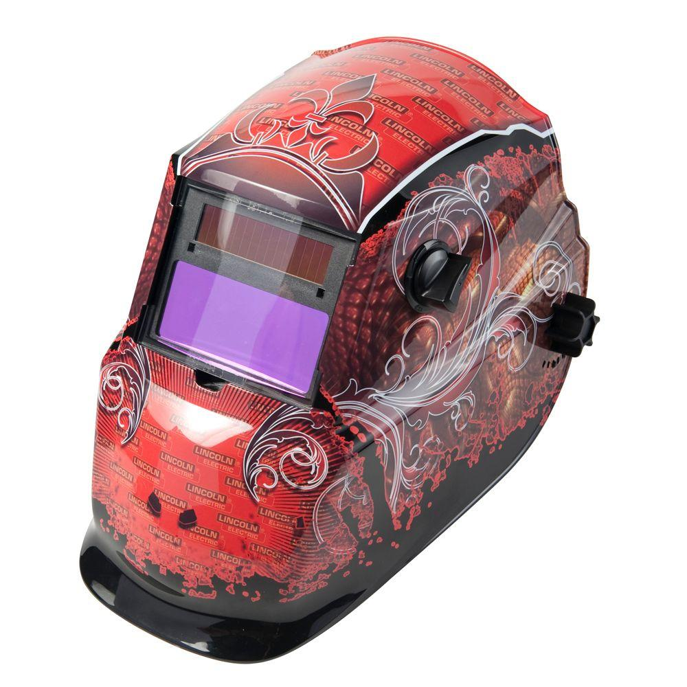 Lincoln Electric Grunge 600s 3 13 16 In X 1 23 32 In Variable Shade Welding Helmet K2933 1