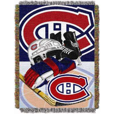 Canadiens Multi Color HIA Tapestry Throw