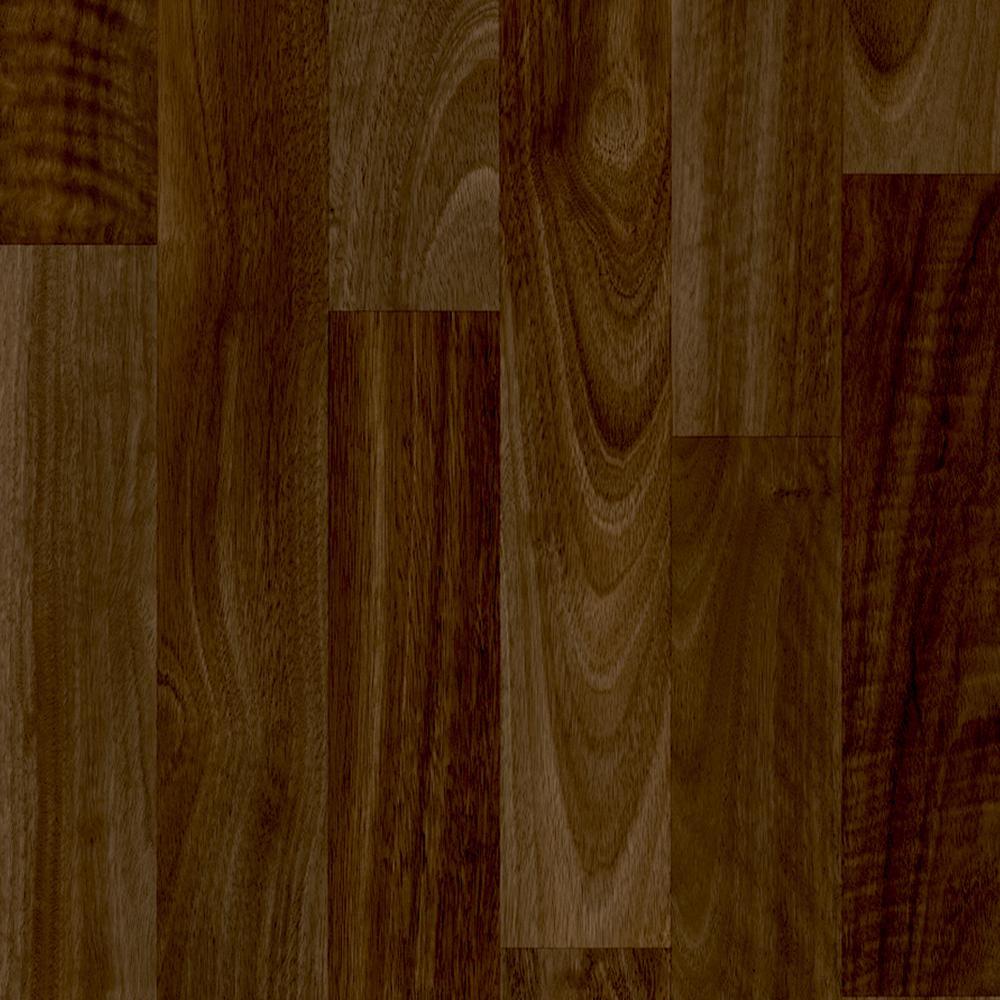 Take Home Sample - Sable Walnut Natural Vinyl Sheet - 6 in. x 9 in.