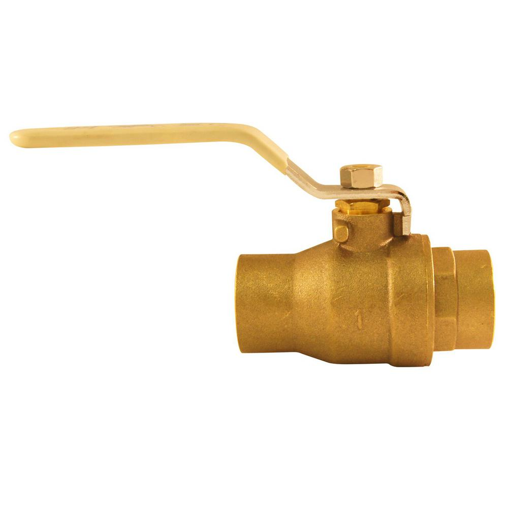 1 in. Lead Free Brass SWT x SWT Ball Valve