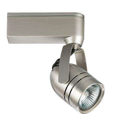 Alpha Trak Collection 1-Light Brushed Nickel Track Lighting Head