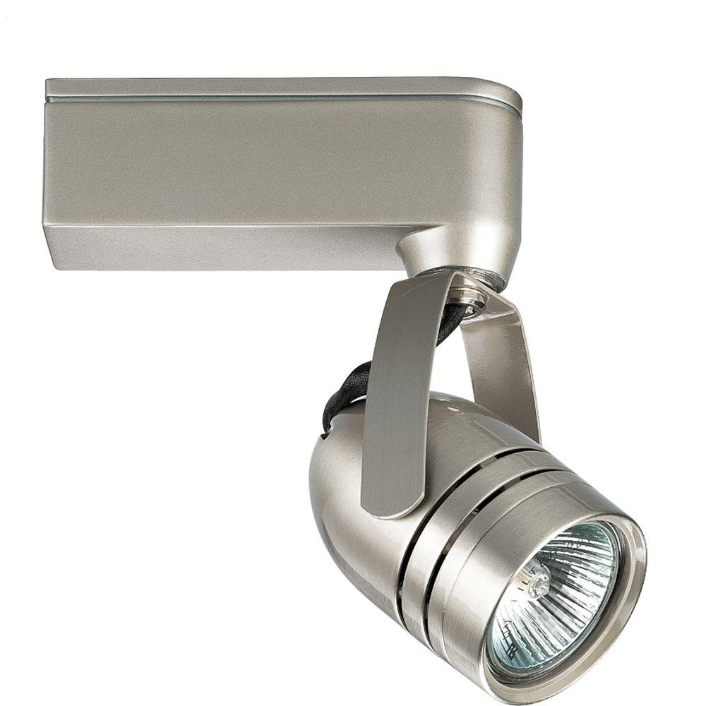 Progress Lighting Alpha Trak Collection 1 Light Brushed Nickel Track Head