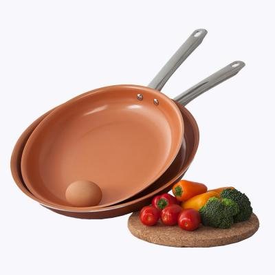 Nonstick Copper Frying Pan (Set of 3)