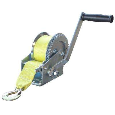 1,400 lbs. Hand Winch with Hook