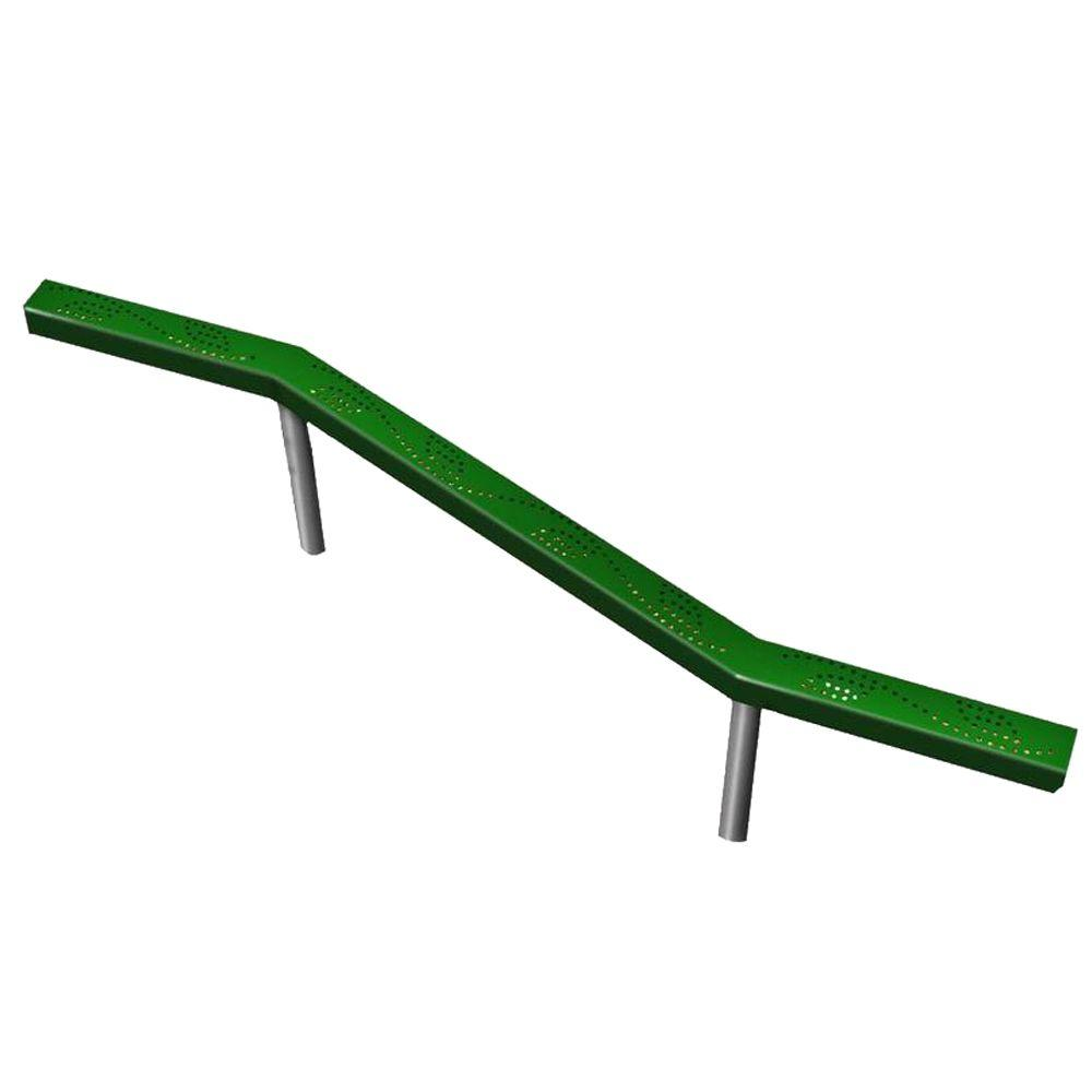 Ultra Play UPlay Today Green Commercial Balance Beam with...