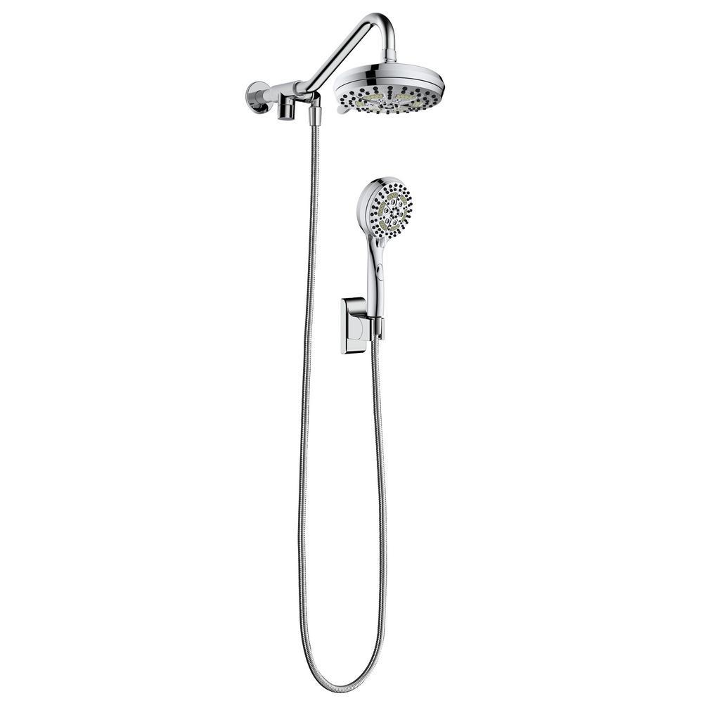 4 5 Ft Handheld Shower Heads Shower Heads The Home Depot